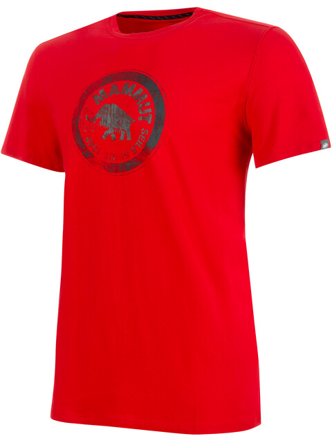 Mammut Seile - Camiseta manga corta Hombre - rojo